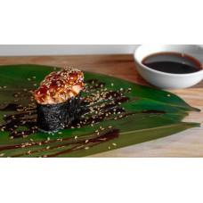 Суши запеченные с лососем